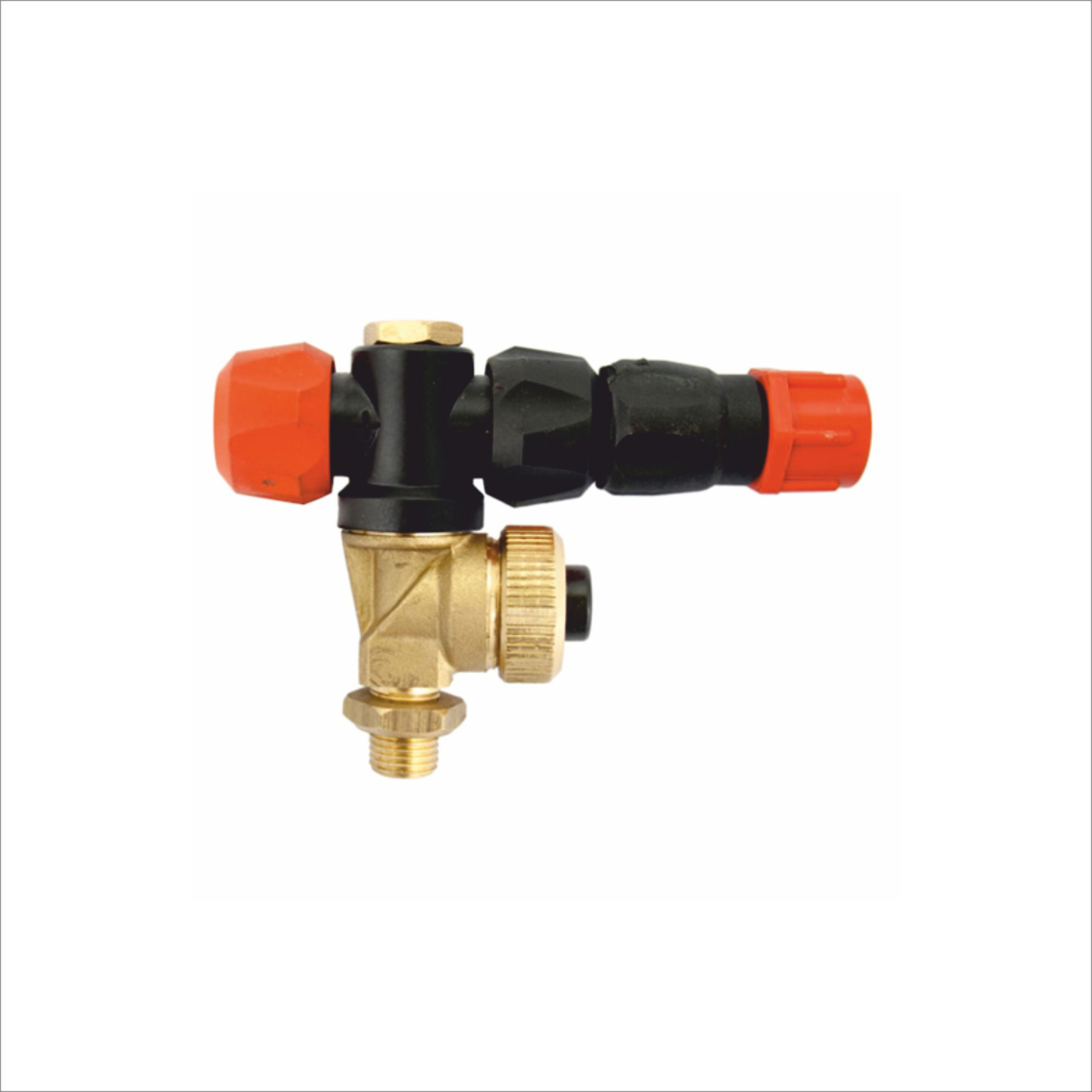 ADJUSTABLE NOZZLE FOR MISTBLOWER (WITH DIAPHRAGM CHECK VALVE)