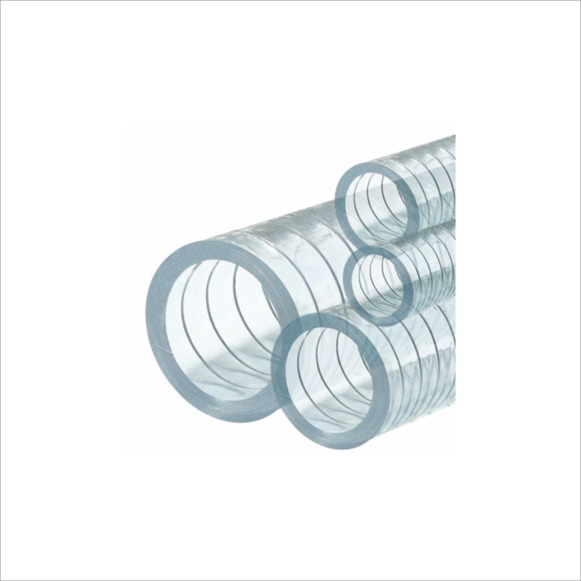 NON-TOXİC STEEL SPRIAL TRANSPARENT HOSES